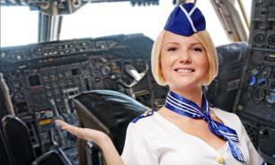 Стюардесса посадила лайнер вместо умиравшего пилота. ВИДЕО