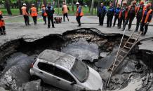 Ямочный  ремонт дорог как нацтрадиция