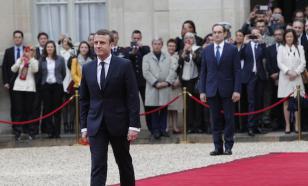 В Елисейском дворце скоро начнет инаугурация Эммануэля Макрона