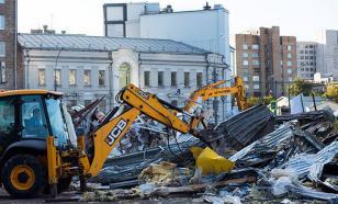 Московская мэрия прокомментировала ситуацию с массовым снесением ларьков