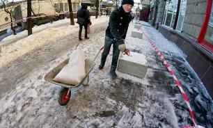 После ледяного дождя в Москве госпитализированы более 190 человек