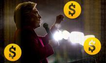 Хакеры: Клинтон финансировали банки - из денег на спасение США