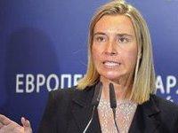 Она не сказала, а лишь подумала: ЕС опровергает слова Могерини об автономии для Востока Украины