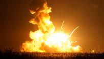 Ракета Antares Национального аэрокосмического агентства США (NASA) с космическим грузовиком Cygnus взорвалась на старте.