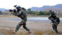 Показательные выступления афганского спецназа