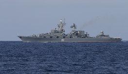 Врагу не сдается наш гордый ГРК  Варяг … ни в Сирии, ни у берегов США, нигде! Посмотрите, в чем сила российского флота!