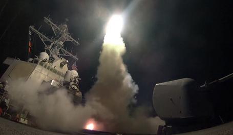 Удар США по Сирии выгоден террористам