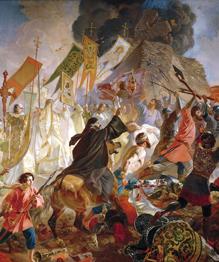 Двадцать пять лет Иван Грозный безуспешно пытался  прорубить окно в Европу . Его дело триумфально завершил Петр Великий.