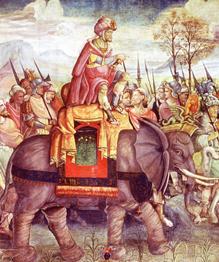 Великие полководцы Древнего мира. Все они воевали до Рождества Христова.
