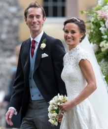 Герцогиня Кейт выдала замуж родную сестру