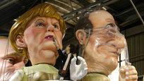 Куклы Меркель и Олланд, таинство рукоположения и памятник в Ялте