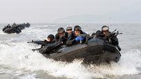 Военные учения в Желтом море