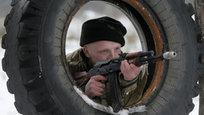 Украина: Военные тренировки в Десне