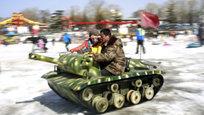 Китайцы на русских танках встретили год Овцы,  Оскар  вручал голыш — что только ни происходило в эти дни в мире.