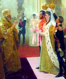 В апреле 1894 года состоялась помолвка Николая II.
