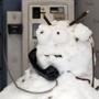 Как нельзя кстати к этим снимкам подходит известное детское стихотворение  Снеговик на маскараде , написанное Крюсс Джеймсом, в переводе Ю. Коринца.