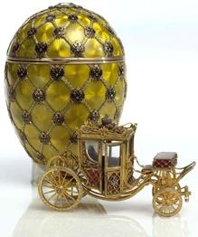 Судьба пасхальных яиц Фаберже не менее причудлива, чем их изысканная красота.
