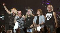 Легендарная британская группа Uriah Heep выступила а Москве.
