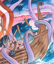 С древности рыбаки судачат о кальмарах, осьминогах и Левиафанах, глотающих корабли. У страха глаха велики или океан кишит мутантами? Сколько истины в байках?
