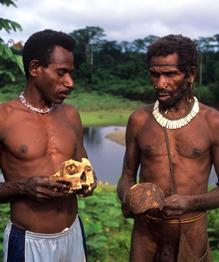 В юго-восточной части индонезийской провинции Папуа на острове Новая Гвинея обитает небольшое и мало изученное племя папуасов. До 1970-х годов они не подозревали о существовании других людей на планете.
