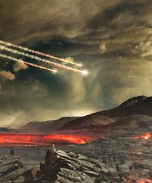 Похоже, что нашу планету всегда  полоскали  метеориты. Однако первый случай падения на Землю космического тела зафиксирован всего лишь в конце XVIII века.