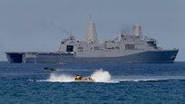 В совместных учениях войск США и Филиппин, которые называются  Баликатан  ( Плечом к плечу ), участвуют 11 тысяч солдат. Они отрабатывают высадку десанта на пляжное побережье, авиаудары американских истребителей, а также боевые маневры в море и на суше.