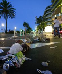 Прошло восемь месяцев с момента терактов в Париже. Страна не успела прийти в себя, когда ее потрясла новая беда.