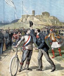 С момента возрождения Олимпийских игр перечень олимпийских видов спорта постоянно меняется. Некоторые состязания представляются курьезными.