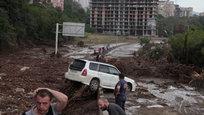 Тбилиси захлестнуло сильнейшее наводнение.