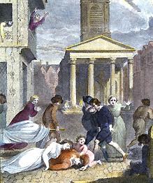 На переломе XIV века во многих странах мира прошла пандемия чумы, прозванной в Европе  черной смертью . Вышедшая из недр Индии и Китая бубонная чума с торговыми караванами пришла в Европу.