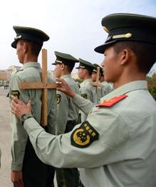 Суворовский принцип  Тяжело в учении — легко в бою  достиг Поднебесной. Китай — страна с давними воинскими традициями.