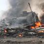 На Суматре военно-транспортный самолет упал на жилой квартал. Погибло не менее 30 человек, и количество жертв может возрасти.