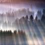 Захватывающий пейзаж на горных хребтах, сделанных талантливым польским фотохудожником.