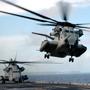 Тяжелый транспортный вертолет Sikorsky S-65, армейское обозначение - CH-53 Sea Stallion, производится американской компанией, основанной ученым-авиаконструктором, выходцем из Российской империи Игорем Ивановичем Сикорским, Sikorsky Aircraft Corporation.