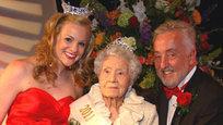 Самой красивой пенсионеркой США названа 100-летняя старушка.
