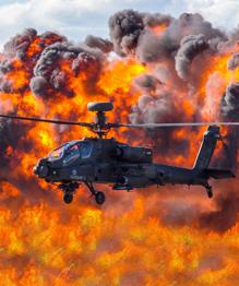 """""""Апачи"""" на земле, в огне и в воздухе"""