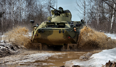 Истребитель танков БТР-82А
