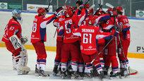 Возрожденный  Локомотив  выиграл первое ледовое сражение