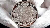 Крещеный принц Георг дорос до памятных монет