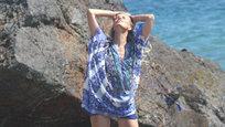 Каролина Куркова: И на пляже есть работа