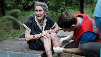 Последствия бомбардировок юго-востока Украины