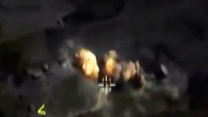 Новые кадры нанесения авиаударов по объектам террористической группировки  Исламское государство  (запрещенной в России).