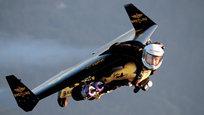 Ив Росси (Yves Rossy) — швейцарский летчик и изобретатель по прозвищу Jet Man или FusionMan, известен полетами на реактивном ранце-крыле (Jetpack) собственного изобретения. Этот летательный аппарат для одного человека надевается на спину, как рюкзак, и позволяет подниматься в воздух посредством реактивной тяги.