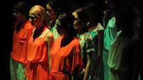 В рамках Mercedes-Benz Fashion Week Russia сезона весна - лето 2013 19 прошел показ коллекции  Urban Mosaic  бренда POUSTOVIT. Основу коллекции весна - лето 2013 составили шелковые платья и объемные модели из хлопка, выполненные в минималистической манере с авторскими принтами навеянными украинской вышивкой, разработанными в студии POUSTOVIT