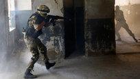 Взгляните на украинских карателей, которые проходят подготовку на военных базах разваливающейся страны, где полыхает гражданская война и, несмотря на объявленное перемирие, каждый день гибнут мирные жители. Взгляните на них сквозь фотообъектив, пока не пришлось посмотреть на них на мушке прицела.