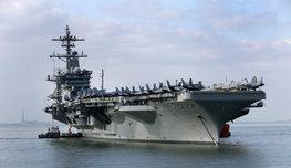 Опасность с моря может прийти и с воздуха, если у вас есть корабль, которому по силам поднять и ракету, и роту солдат. А как быть, если по силам, и даже не одну? Смотрите и бойтесь!