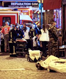 Теракт в Париже. Франция в горе