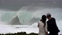 Японский остров Кюсю погрузился во мрак