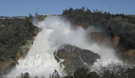 Калифорния под угрозой затопления