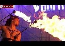 Киев попал под власть огня